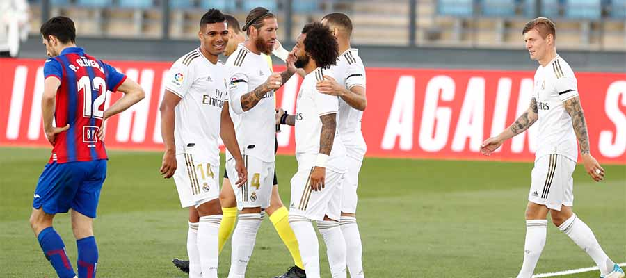 Real Madrid eye to retain top position