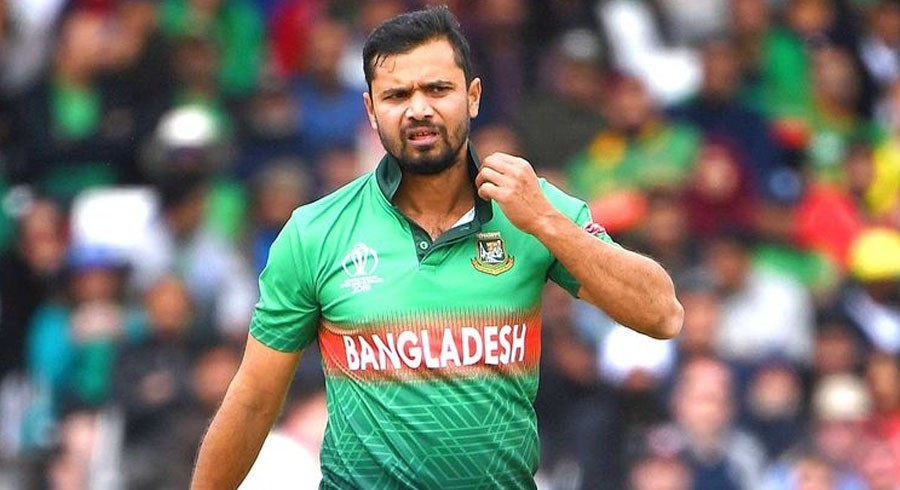 Mashrafe Mortaza tested positive for corona virus