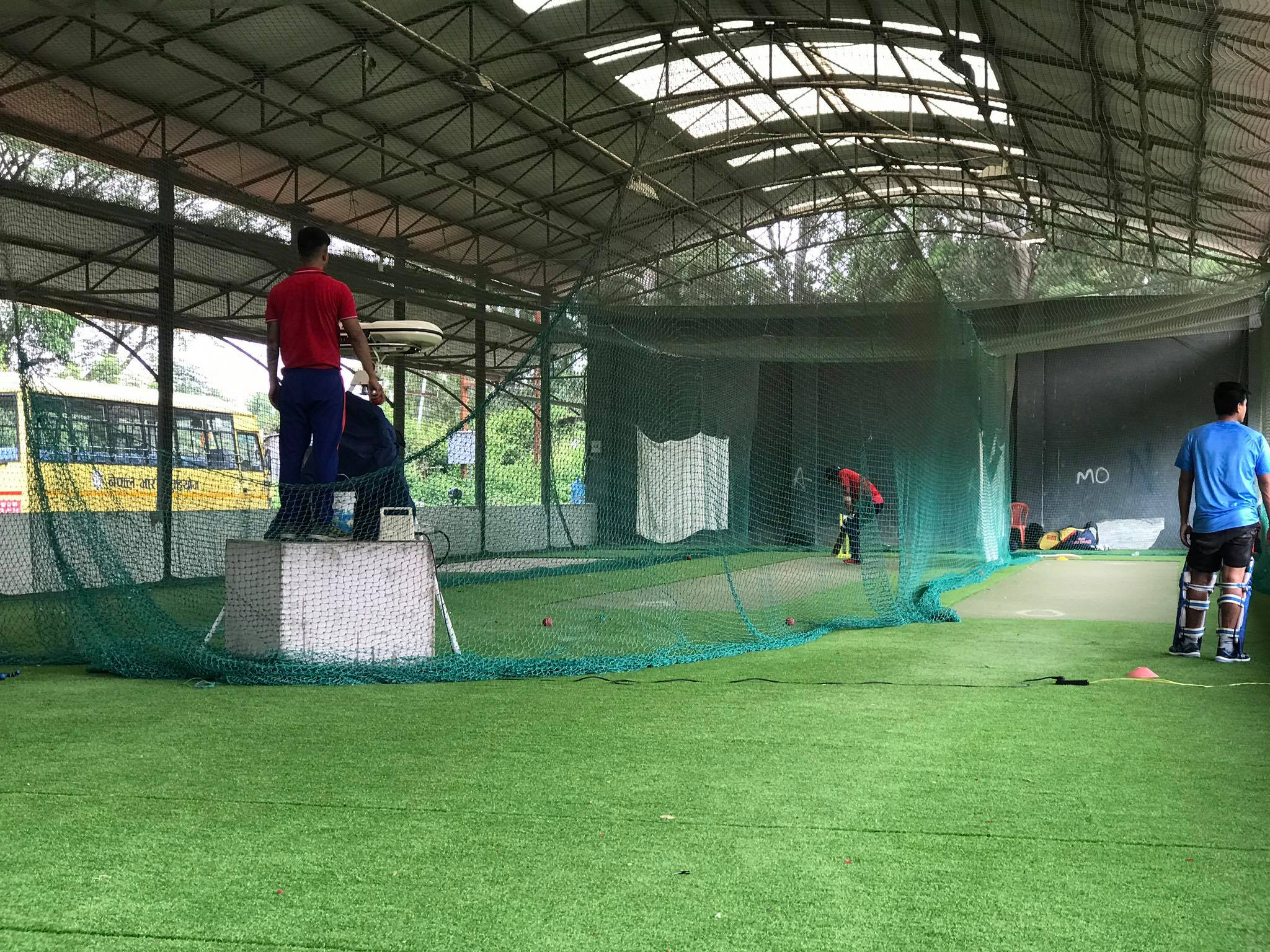 Paras Khadka back in Training