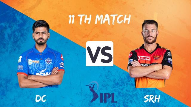 Delhi Capitals vs Sunrisers Hyderabad Live Stream for Free.